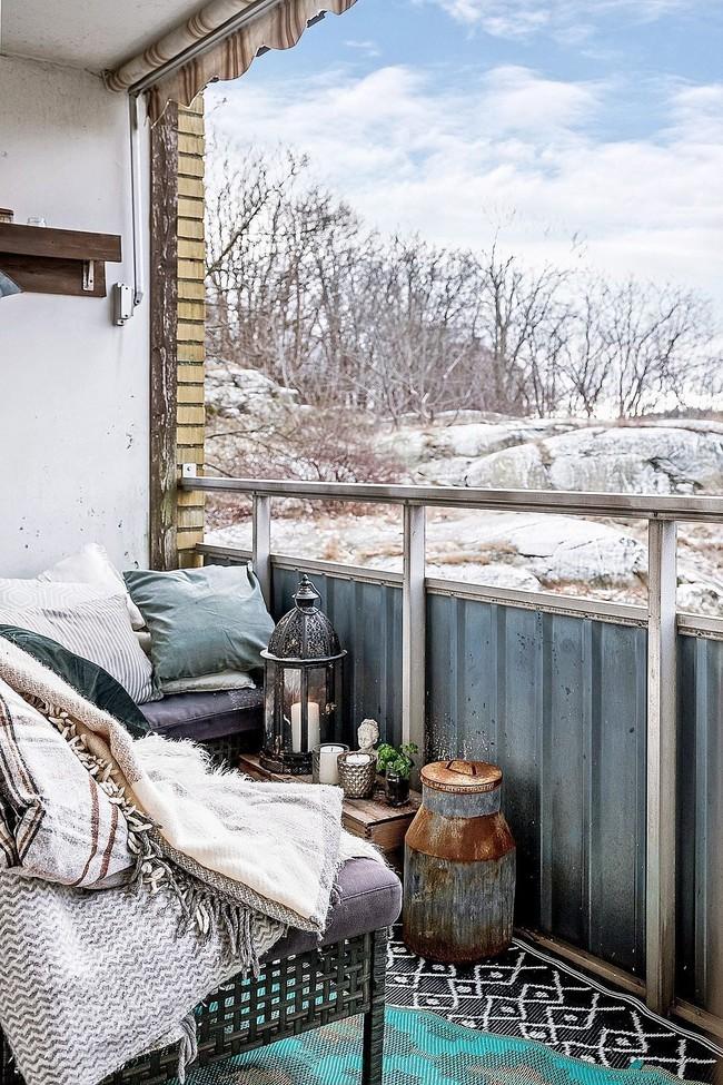 10 ý tưởng trang trí ban công dành riêng cho mùa đông chắc chắn sẽ khiến bạn thích - Ảnh 4.