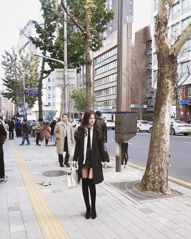 Nhà Huyền Baby khoe ảnh du lịch Hàn Quốc mà cứ tưởng dàn mẫu dự Fashion Week - Ảnh 9.