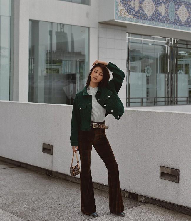 Muốn mặc đâu chuẩn đấy trong tiết trời se lạnh, bạn chỉ việc copy 10 công thức street style xuất sắc từ loạt hot girl Việt - Ảnh 6.
