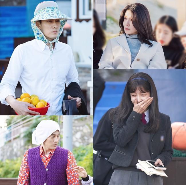 So Ji Sub gây choáng với tạo hình... bà thím khiến fan không thể nhịn cười - Ảnh 2.