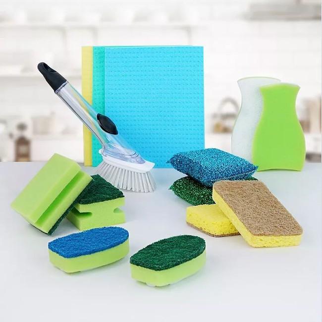 Đánh bay mọi vết bẩn trong nhà bếp chỉ với một bộ dụng cụ làm sạch siêu dễ dùng với giá chưa tới 300 nghìn - Ảnh 1.