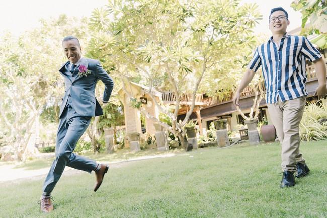Bí mật của chiếc váy cưới và khoảnh khắc first look hạnh phúc ở đám cưới chất phát ngất do cô dâu tự tay trồng - Ảnh 3.