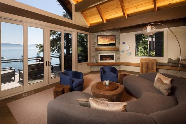 Ghế sofa cong - xu hướng nội thất đang làm mưa làm gió với sức hút không hề nhỏ - Ảnh 7.