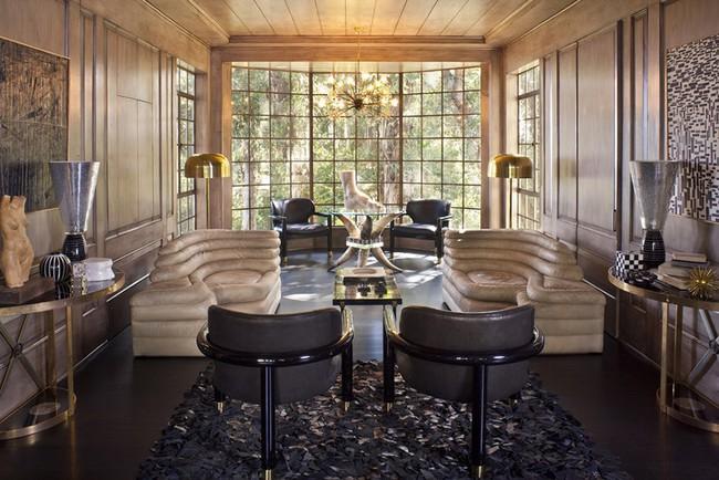 Ghế sofa cong - xu hướng nội thất đang làm mưa làm gió với sức hút không hề nhỏ - Ảnh 11.
