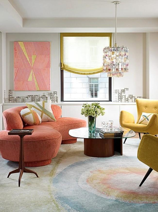 Ghế sofa cong - xu hướng nội thất đang làm mưa làm gió với sức hút không hề nhỏ - Ảnh 13.