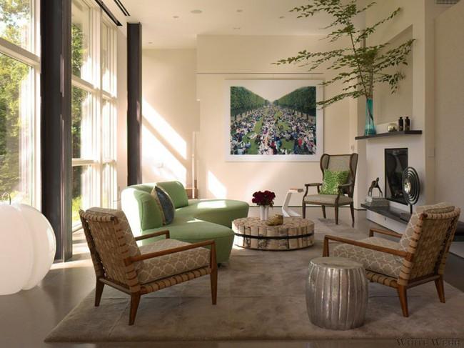 Ghế sofa cong - xu hướng nội thất đang làm mưa làm gió với sức hút không hề nhỏ - Ảnh 17.