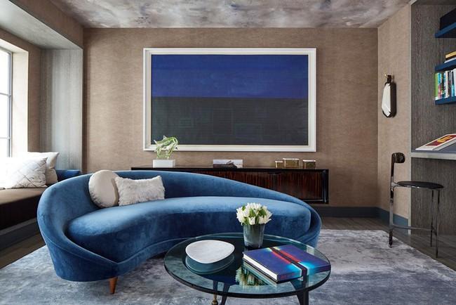 Ghế sofa cong - xu hướng nội thất đang làm mưa làm gió với sức hút không hề nhỏ - Ảnh 2.