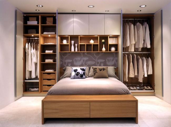 8 thiết kế tủ quần áo vừa thẩm mỹ lại vô cùng đa năng, đánh tan định kiến cồng kềnh, tốn chỗ - Ảnh 4.