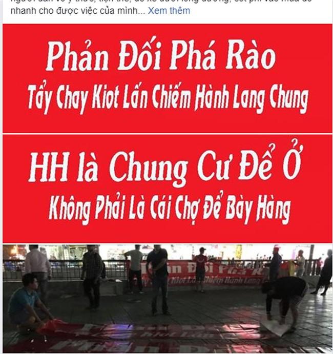 Tranh cãi gay gắt giữa cư dân và nhóm ki-ốt kinh doanh tại chung cư HH Linh Đàm - Ảnh 11.