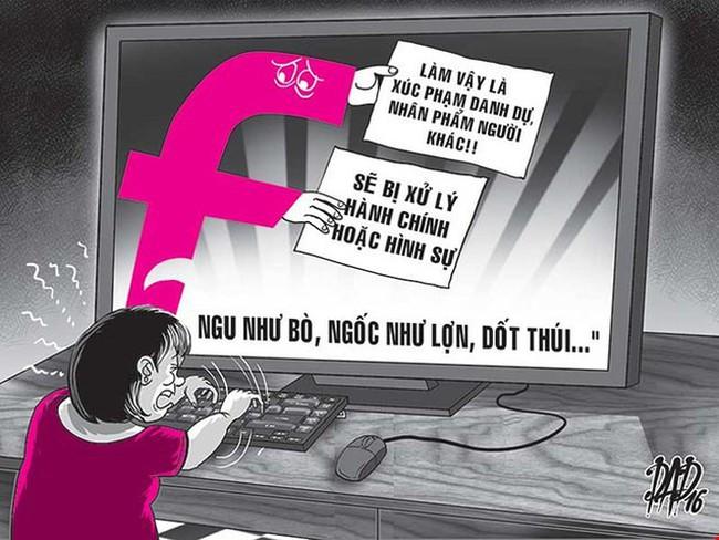 Hà Nội khuyến nghị không lập nhóm nói xấu, công kích trên mạng - Ảnh 1.