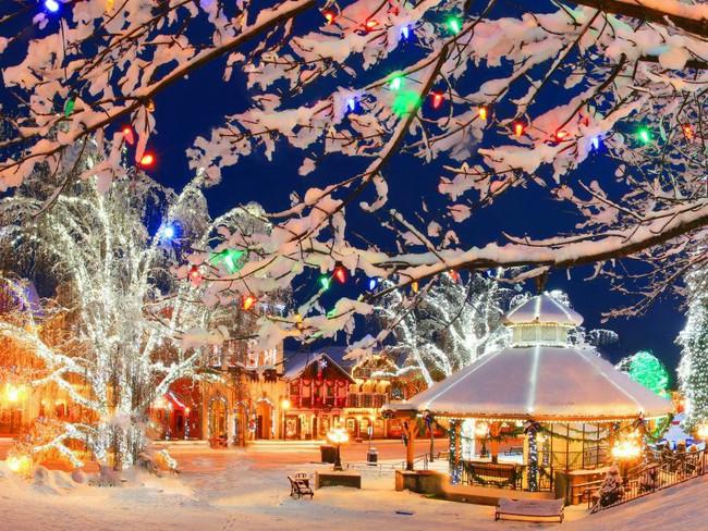Ngắm những ngôi nhà đẹp như cổ tích lung linh trong mùa Giáng sinh - Ảnh 18.