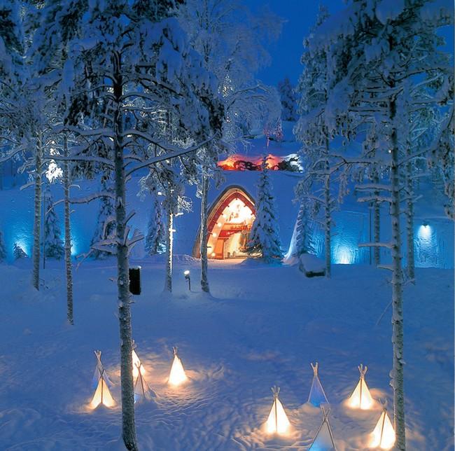 Ngắm những ngôi nhà đẹp như cổ tích lung linh trong mùa Giáng sinh - Ảnh 4.