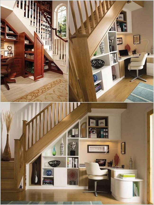 10 ý tưởng biến gầm cầu thang thành không gian độc đáo bậc nhất trong ngôi nhà - Ảnh 10.