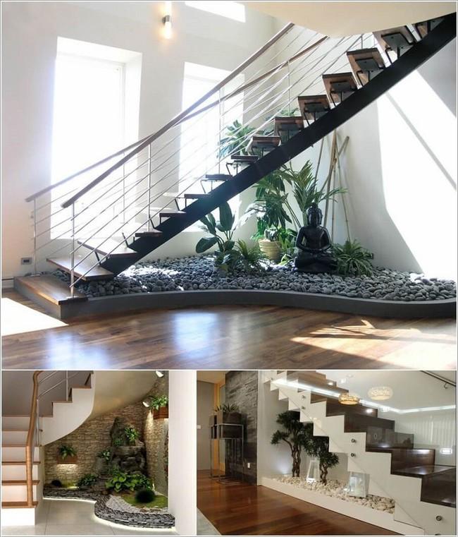 10 ý tưởng biến gầm cầu thang thành không gian độc đáo bậc nhất trong ngôi nhà - Ảnh 3.