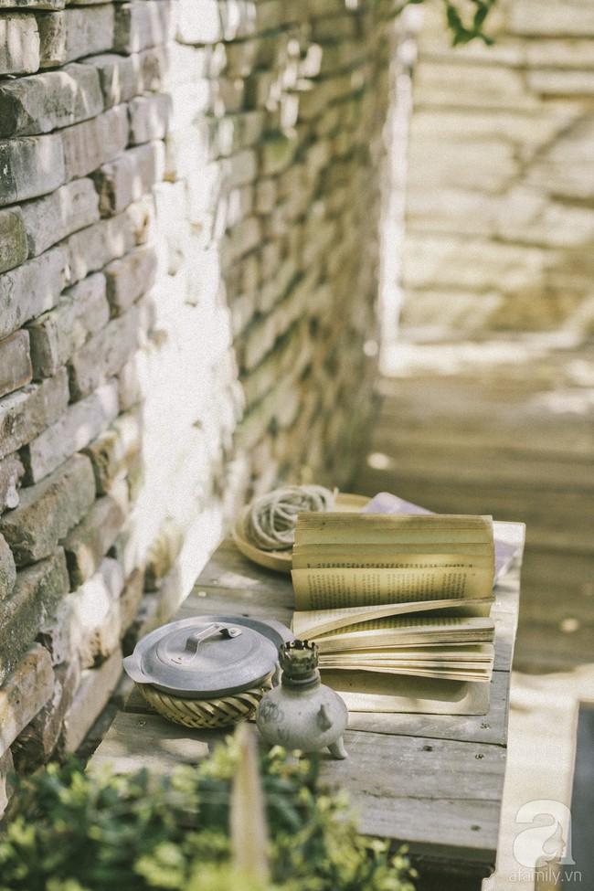 Chàng trai 8X đam mê nhiếp ảnh biến mảnh đất hoang thành khu vườn đậm màu Vintage rộng 20m² ở Hà Nội - Ảnh 19.