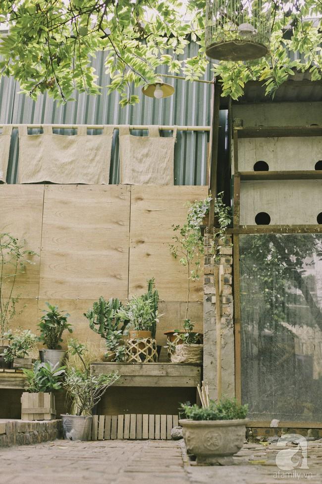 Chàng trai 8X đam mê nhiếp ảnh biến mảnh đất hoang thành khu vườn đậm màu Vintage rộng 20m² ở Hà Nội - Ảnh 17.
