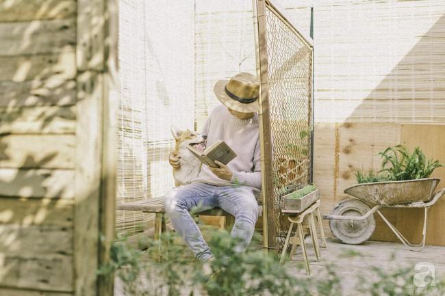 Chàng trai 8X đam mê nhiếp ảnh biến mảnh đất hoang thành khu vườn đậm màu Vintage rộng 20m² ở Hà Nội - Ảnh 6.