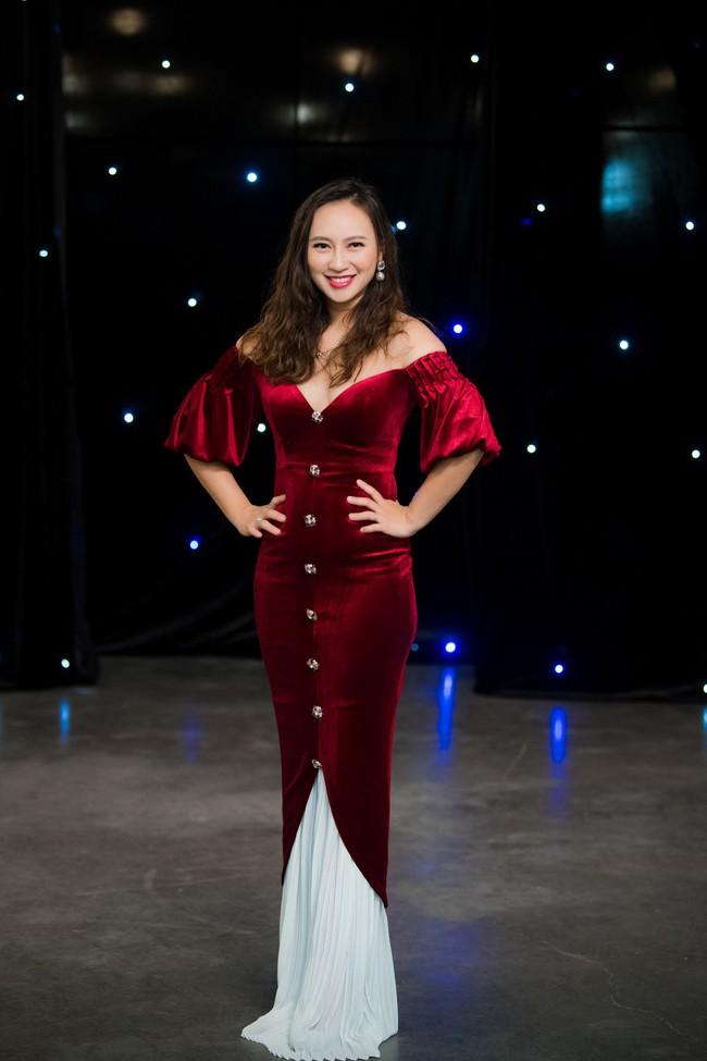 Maya diện váy lộ ngực khủng, khoe chiều cao vượt trội giữa dàn mỹ nhân toàn Hoa hậu - Ảnh 11.