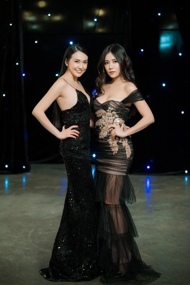 Maya diện váy lộ ngực khủng, khoe chiều cao vượt trội giữa dàn mỹ nhân toàn Hoa hậu - Ảnh 6.