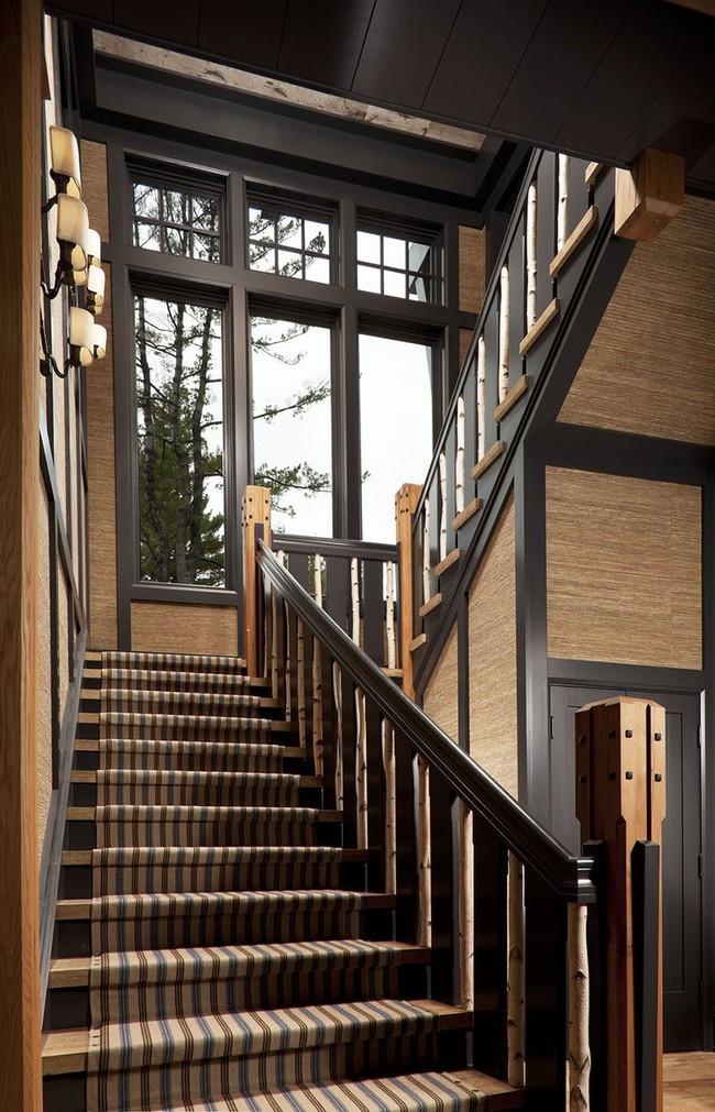 Đây là cách dễ dàng nhất biến cầu thang gia đình thêm ấn tượng cho mùa đông này - Ảnh 3.