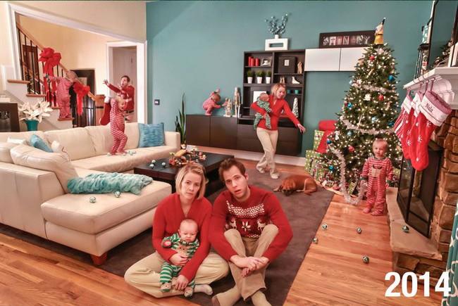 Đây mới là những hình ảnh chân thực nhất về Giáng sinh trong những gia đình có con nhỏ - Ảnh 1.