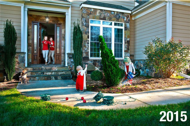 Đây mới là những hình ảnh chân thực nhất về Giáng sinh trong những gia đình có con nhỏ - Ảnh 2.