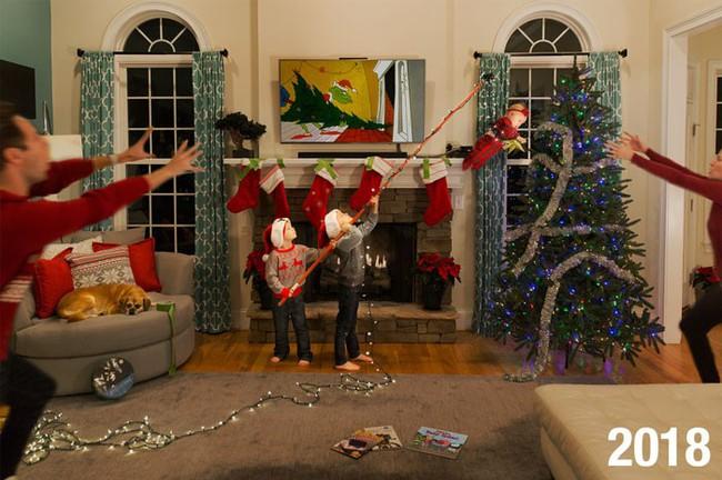 Đây mới là những hình ảnh chân thực nhất về Giáng sinh trong những gia đình có con nhỏ - Ảnh 5.