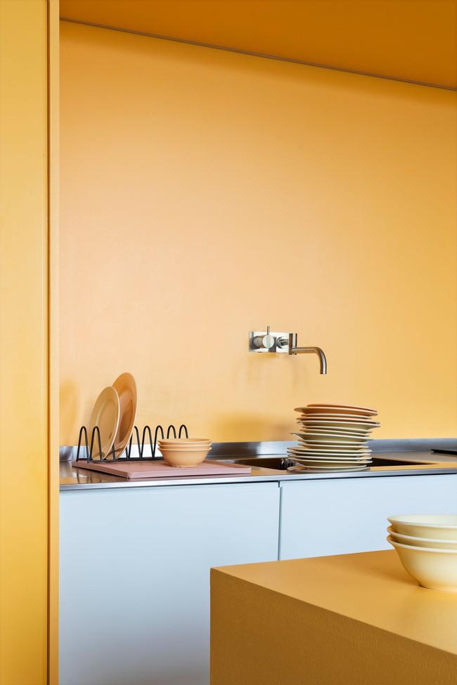 Căn hộ 80m² đẹp dịu dàng mà không chói lóa với tone màu hot nhất năm 2018 - Ảnh 6.