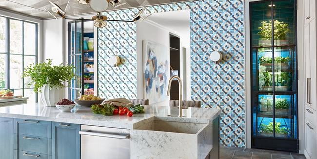 Nhà bếp trong mơ của bạn là đây: Mọi tính năng, cách sắp xếp đều hoàn hảo - Ảnh 1.