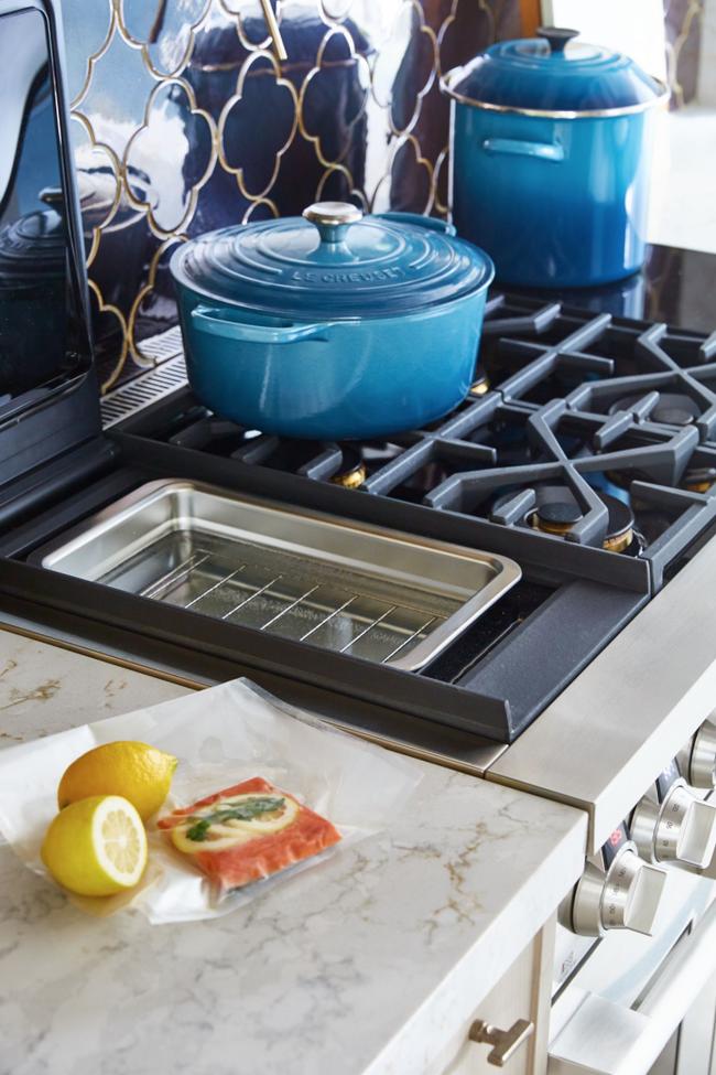 Nhà bếp trong mơ của bạn là đây: Mọi tính năng, cách sắp xếp đều hoàn hảo - Ảnh 6.