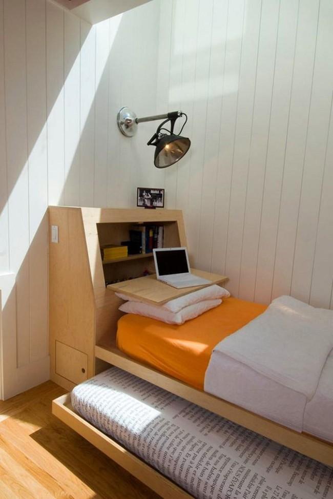 6 thiết kế giường đặc biệt dành riêng cho những phòng ngủ có diện tích nhỏ - Ảnh 1.