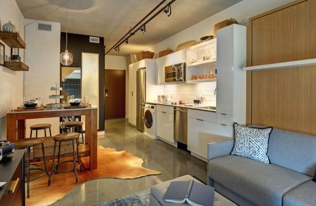 Danh sách 13 căn hộ siêu nhỏ gây thương nhớ nhờ thiết kế ăn gian diện tích tài tình - Ảnh 11.