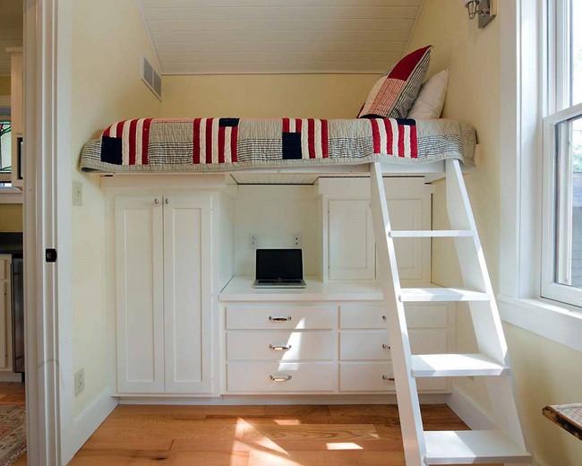 6 thiết kế giường đặc biệt dành riêng cho những phòng ngủ có diện tích nhỏ - Ảnh 5.