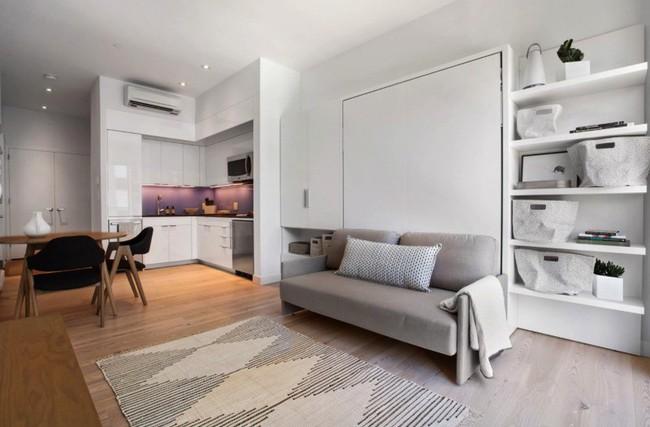 Danh sách 13 căn hộ siêu nhỏ gây thương nhớ nhờ thiết kế ăn gian diện tích tài tình - Ảnh 8.
