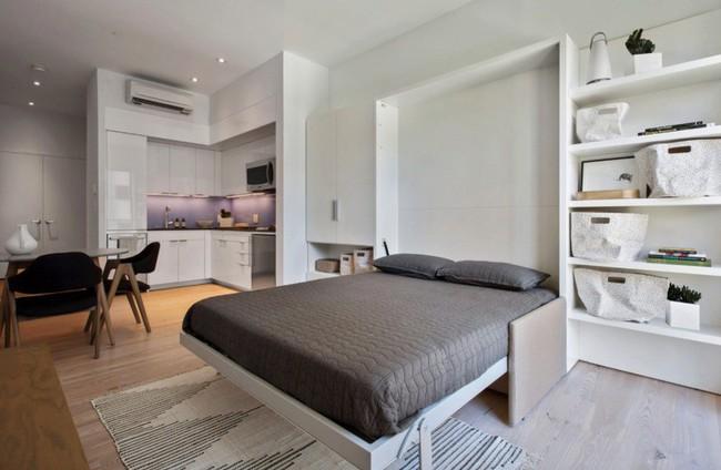 Danh sách 13 căn hộ siêu nhỏ gây thương nhớ nhờ thiết kế ăn gian diện tích tài tình - Ảnh 9.