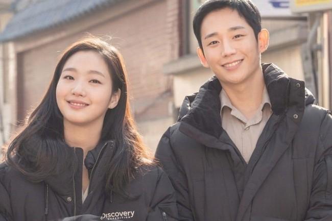 Jung Hae In đóng cặp với Kim Go Eun nhưng lại trông giống đôi bạn thân hơn là tình nhân - Ảnh 1.