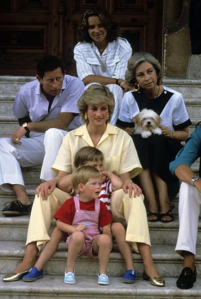 Những bức ảnh để đời của Công nương Diana bên 2 con chứng tỏ bà vẫn là bà mẹ quốc dân được ái mộ nhất - Ảnh 4.