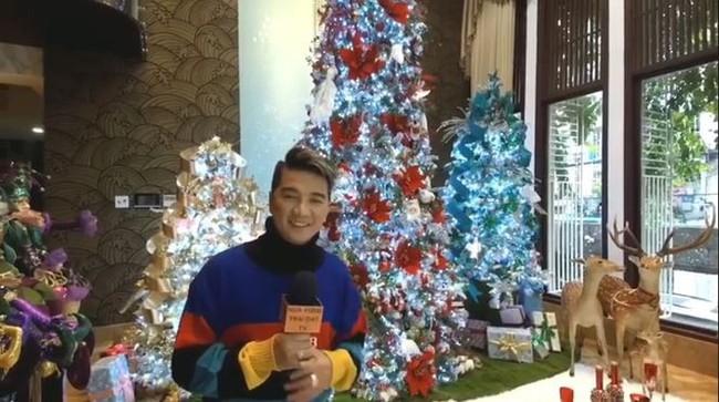 Biệt thự 60 tỷ của Đàm Vĩnh Hưng lung linh trong ngày Giáng sinh - Ảnh 1.