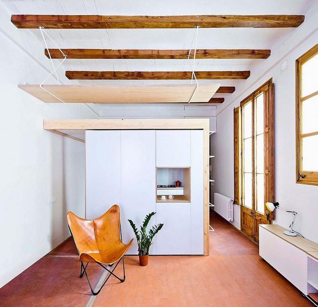 Nhà bếp dưới gác lửng - giải pháp hoàn hảo cho một ngôi nhà cần tiết kiệm không gian tối đa - Ảnh 11.