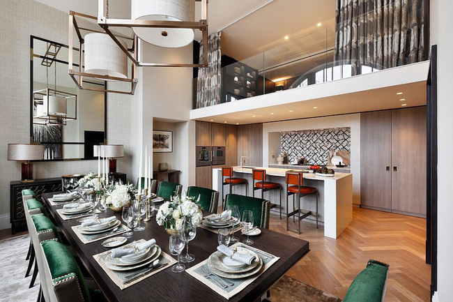Nhà bếp dưới gác lửng - giải pháp hoàn hảo cho một ngôi nhà cần tiết kiệm không gian tối đa - Ảnh 4.