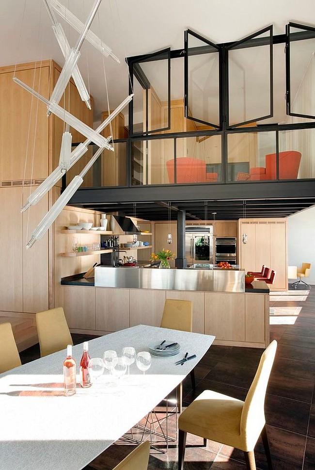 Nhà bếp dưới gác lửng - giải pháp hoàn hảo cho một ngôi nhà cần tiết kiệm không gian tối đa - Ảnh 5.