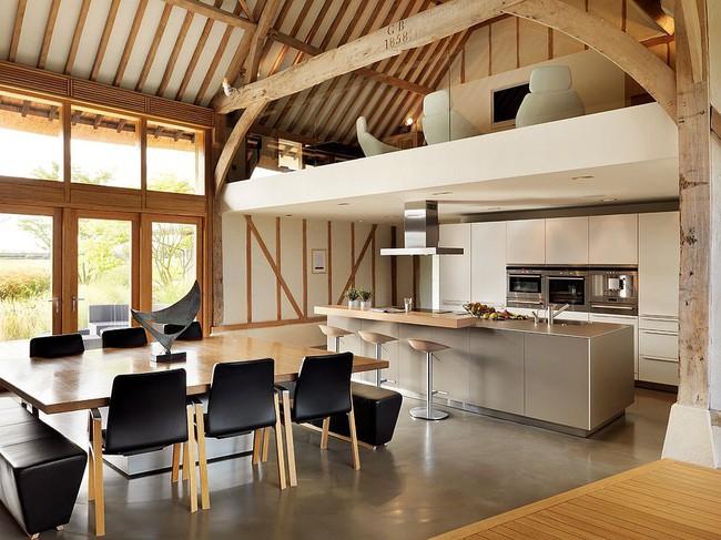 Nhà bếp dưới gác lửng - giải pháp hoàn hảo cho một ngôi nhà cần tiết kiệm không gian tối đa - Ảnh 6.