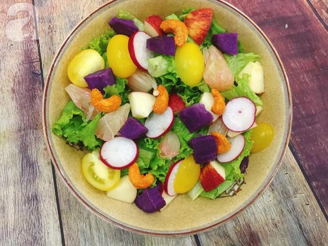 Bụng phẳng eo thon, làm đẹp đón Tết với 3 món salad ngon thần thánh - Ảnh 3.