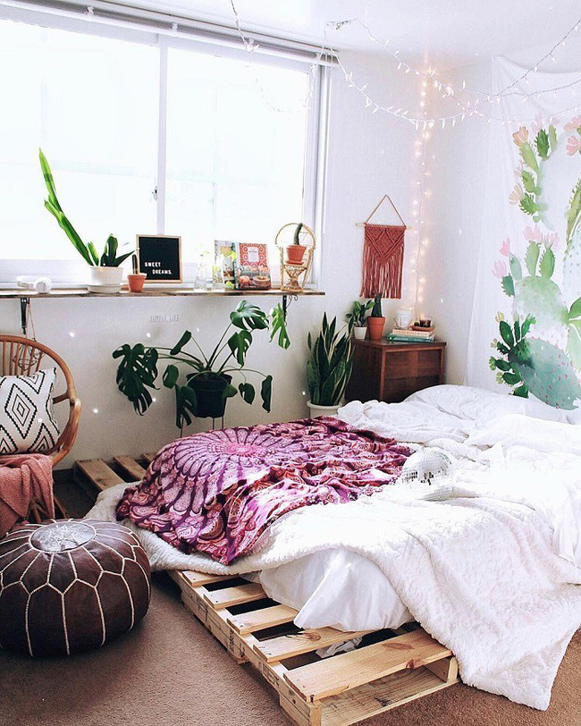 Khám phá 11 thiết kế phòng ngủ vừa đẹp lại nhẹ nhàng, trẻ trung dành cho các cô nàng mộng mơ - Ảnh 7.