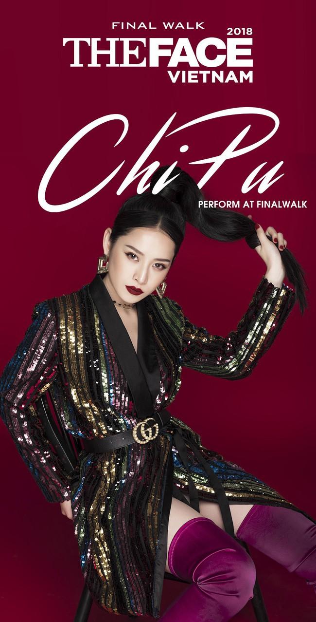 Chi Pu sẽ hát trong Chung kết The Face cùng học trò Võ Hoàng Yến - Thanh Hằng - Minh Hằng  - Ảnh 2.