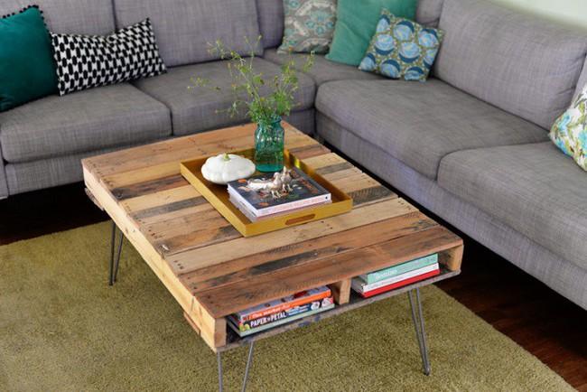 10 mẫu bàn uống nước bằng gỗ cực dễ làm mà bạn có thể tự thực hiện ngay tại nhà mình - Ảnh 10.
