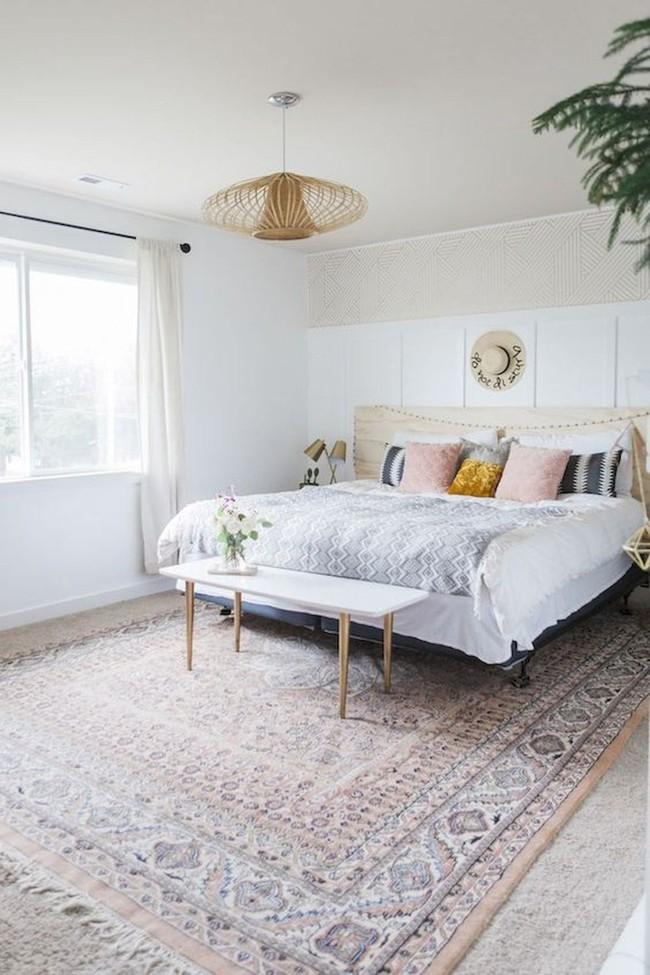 Mách bạn cách chọn đồ nội thất cho 9 phong cách phòng ngủ có tông màu trắng - Ảnh 9.