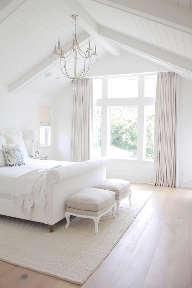 Mách bạn cách chọn đồ nội thất cho 9 phong cách phòng ngủ có tông màu trắng - Ảnh 14.