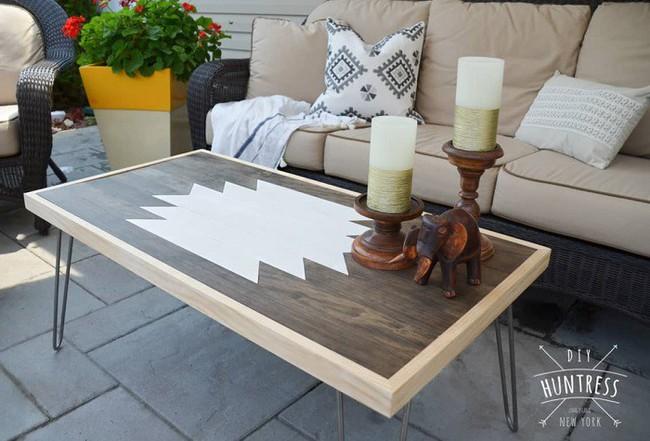 10 mẫu bàn uống nước bằng gỗ cực dễ làm mà bạn có thể tự thực hiện ngay tại nhà mình - Ảnh 5.