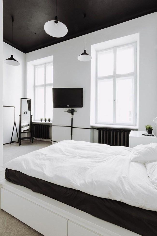 Mách bạn cách chọn đồ nội thất cho 9 phong cách phòng ngủ có tông màu trắng - Ảnh 5.